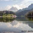 Vista presso il lago di Misurina, Alto Adige