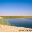 Pozza d'acqua nel deserto del Sahara, Egitto