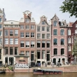 Facciate di abitazioni ad Amsterdam, Olanda