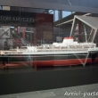 Modellino della Andrea Doria all'interno del Museo del Mare Galata, Genova