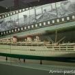 Modello di nave all'interno del Museo del Mare Galata, Genova