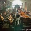 Ricostruzione di un vascello all'interno del Museo del Mare Galata, Genova