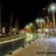 Lungo le strade di sera a Kos, Grecia