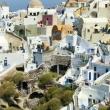 Oia sull'isola di Santorini, Grecia