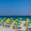 Ombrelloni in spiaggia a Kos, Grecia