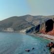 Red Beach sull'isola di Santorini, Grecia
