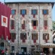 Edifici presso la Chiesa di San Domenico a Gubbio, Umbria
