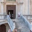 Ingresso del Palazzo dei Consoli, Gubbio
