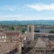 Vista di Gubbio da Piazza Grande, Umbria
