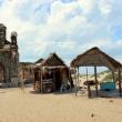 Chiesa cattolica dopo ciclone del 1964 4 Tsunami 2004, Dhanushkodi