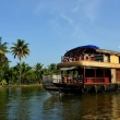 Casa galleggiante, Kerala backwaters