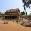 Five rathas, Arjuna ratha, Draupadi ratha, Toro Nandi, Mamallapuram