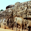 MAMALLAPURAM-VARAHA CAVEVaraha Cave, Arjuna's penance, Mamallapuram -ARJUNA'S PENANCE