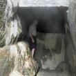 Terme di Cavascura - la vasca di recupero dell'acqua termale