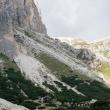 Discesa al Passo Falzarego dal Lagazuoi, Veneto