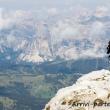 Escursionista sul Lagazuoi, Veneto