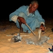 Pane cotto sotto la sabbia, Mauritania