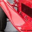 Parafango dell 6C-1750-GRAN-SPORT al Museo dell'Alfa Romeo, Arese