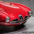 Parte anteriore della 1900 C52 DISCO VOLANTE al Museo dell'Alfa Romeo, Arese