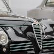 """Parte anteriore della 6C 2500 SPORT """"FRECCIA D'ORO""""al Museo dell'Alfa Romeo, Arese"""