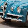"""Parte anteriore della 6C 2500 SUPER SPORT """"VILLA D'ESTE"""" al Museo dell'Alfa Romeo, Arese"""