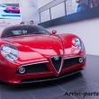 Parte anteriore della 8C al Museo dell'Alfa Romeo, Arese