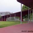 Percorso dal parcheggio all'ingresso del complesso al Museo dell'Alfa Romeo, Arese