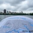 Guida presso il Central Park, New York city