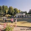Campo di bocce presso Christchurch, Nuova Zelanda