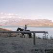 Maneggio sul lago Wanaka, Nuova Zelanda