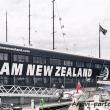 Presso il porto di Auckland, Nuova Zelanda