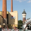 Esterno della fabbrica della birra di Pilsen, Repubblica Ceca