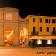 Antica pescheria alla sera, Rimini