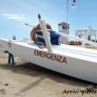 Barca del bagnino sul bagnasciuga, Rimini