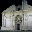 Tempio Malatestiano alla sera, Rimini