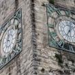 Orologio sulla Torre Apponale di Riva del Garda, Trentino - Alto Adige