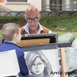 Vignettista nel centro di Riva del Garda, Trentino - Alto Adige