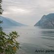 Vista del Lago di Garda da Riva del Garda, Trentino - Alto Adige