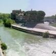 Panorama dell'Isola Tiberina, Roma