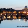 Vista del Tevere alla sera da Ponte Umberto I, Roma