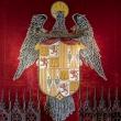 Particolari dell'interno dell'Alcazar di Segovia, Spagna