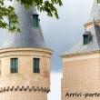 Torri dell'Alcazar di Segovia, Spagna