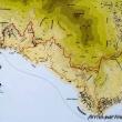 Mappa del Sentiero degli Dei, Costiera Amalfitana