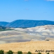 Panorama bucolico nei pressi di Setenil de las Bodegas in Andalusia, Spagn