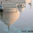 Riflessi del Taj Mahal - Agra, India