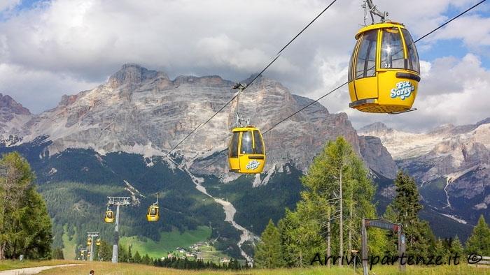 Val Badia, come arrivare tra le Dolomiti