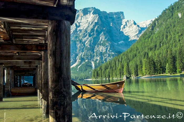 Val Pusteria, il lago di Braies