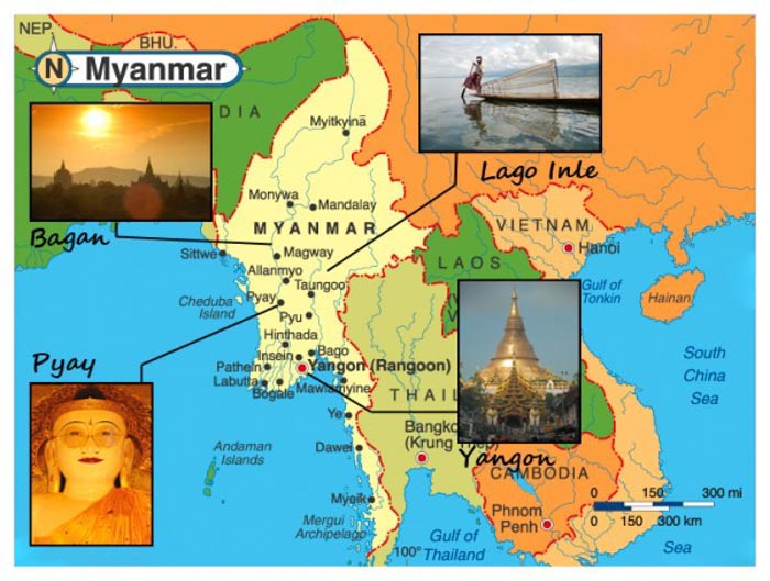 Birmania, cosa vedere