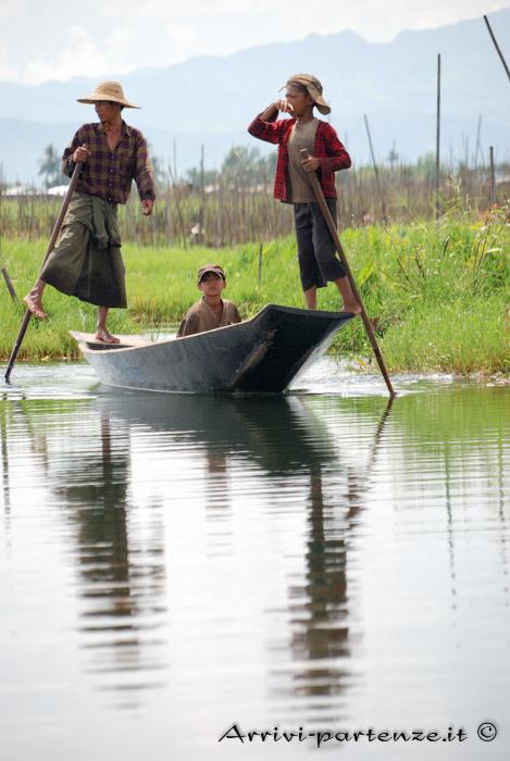 Birmania, il Lago Inle