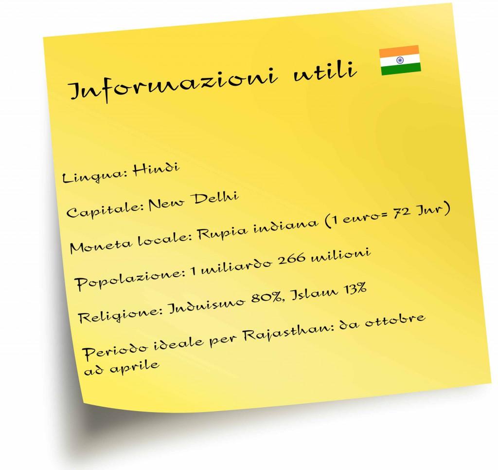 Informazioni utili India